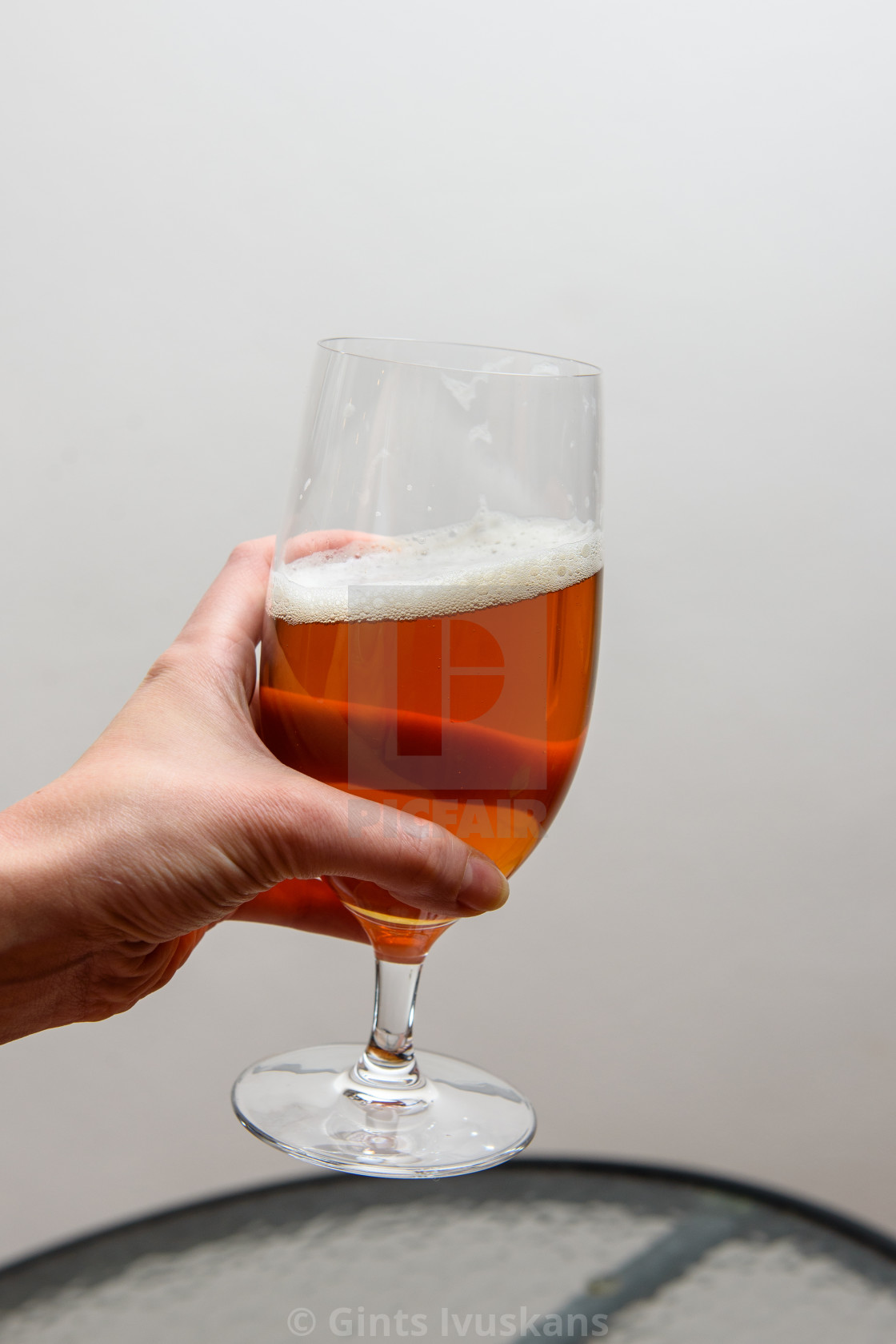 """Glass with beer."" stock image"