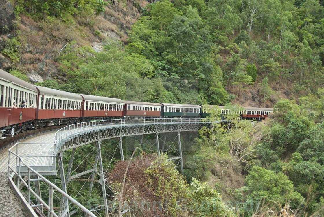 """""""Kuranda Train to Cairns"""" stock image"""