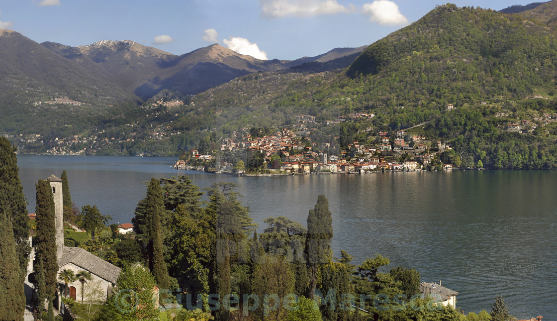 """Lake Como,Torno"" stock image"