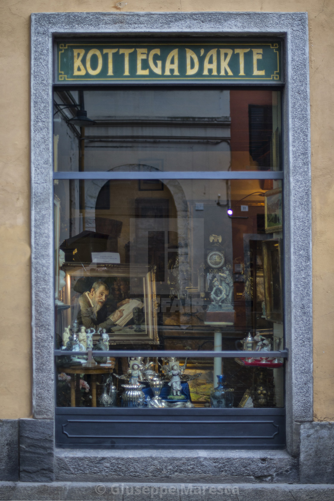 """Shop window."" stock image"