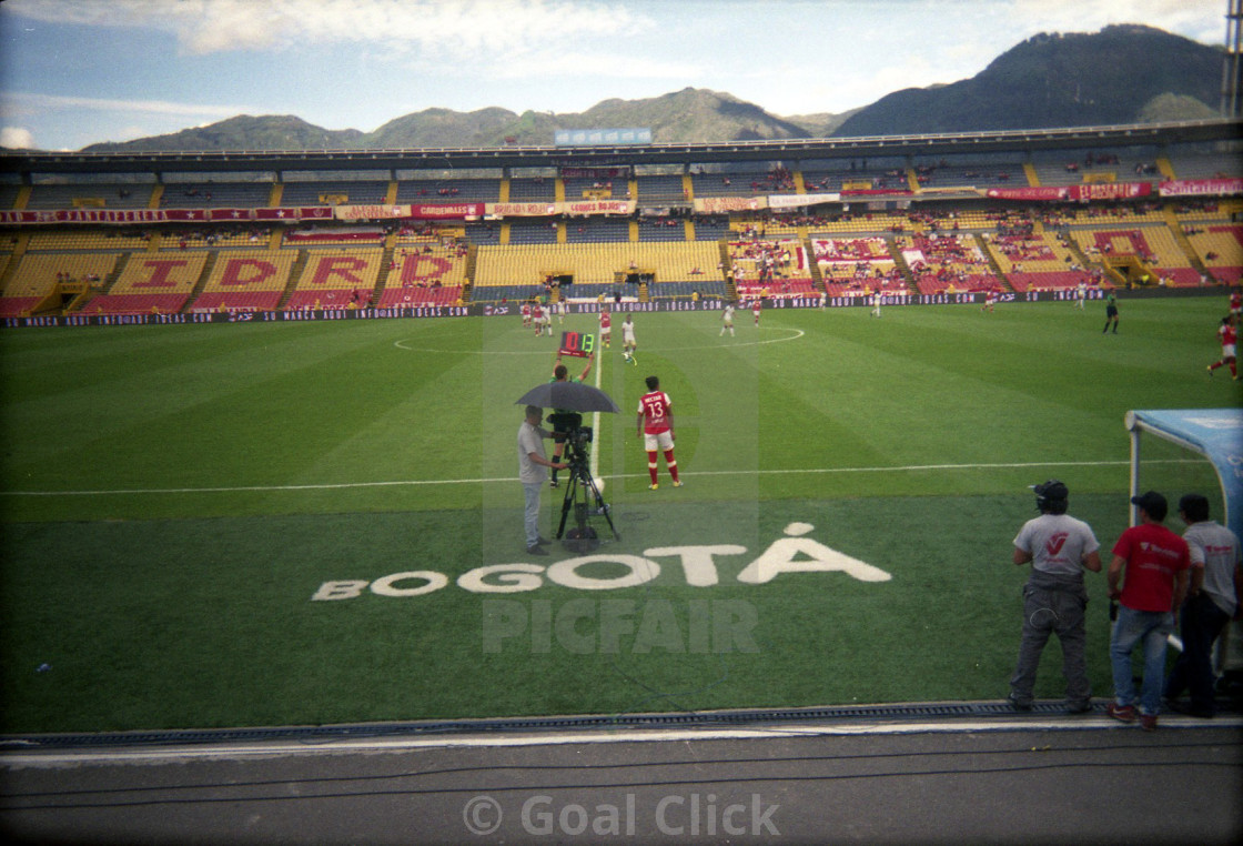 """Football in Colombia"" stock image"