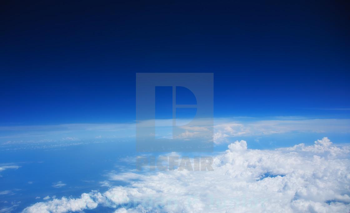"""Cloudy Sky"" stock image"