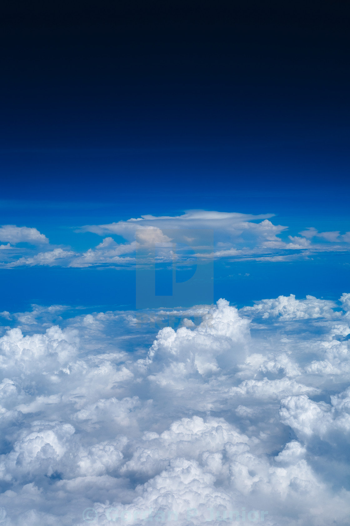 """Cloudy Sky"" stock image"