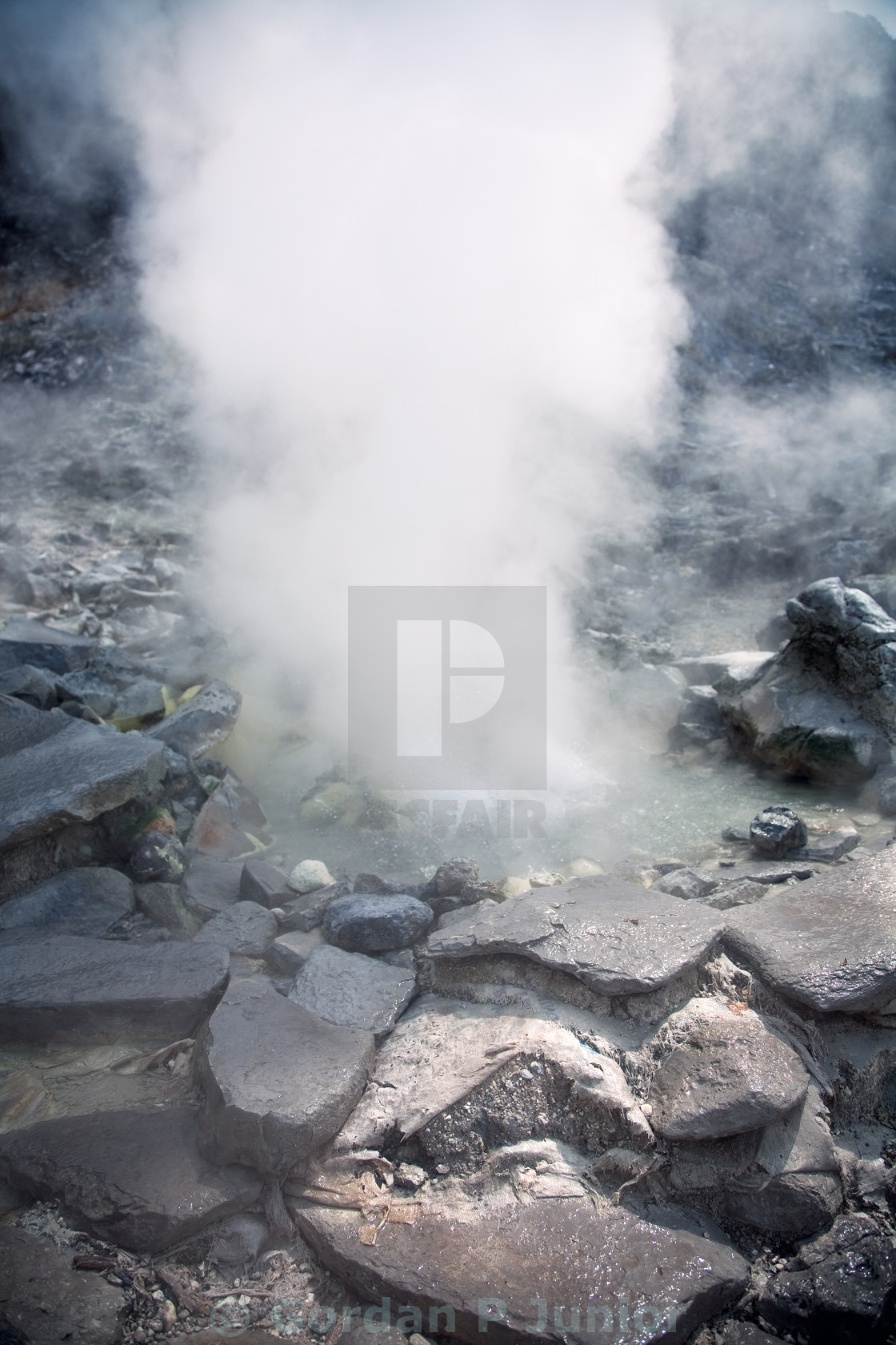 """""""Hot spring"""" stock image"""