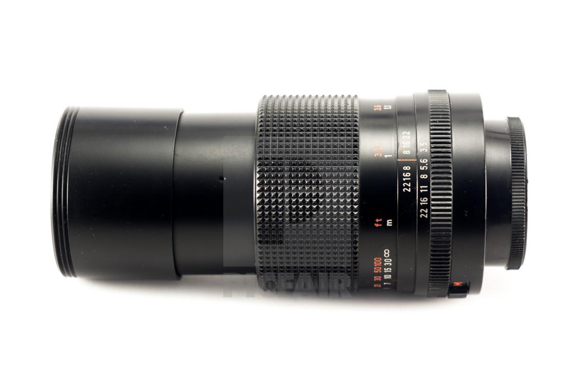 Carl Zeiss Jena MC Sonnar 135mm F/3 5 lens - License