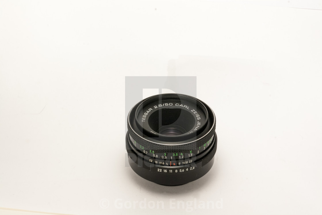 Carl Zeiss Jena Tessar 50mm F/2 8 Lens - License, download