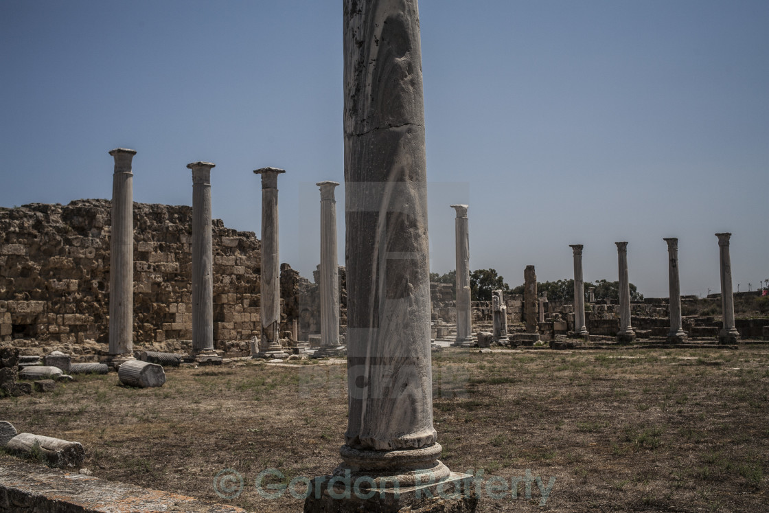 """Salamis North Cyprus"" stock image"