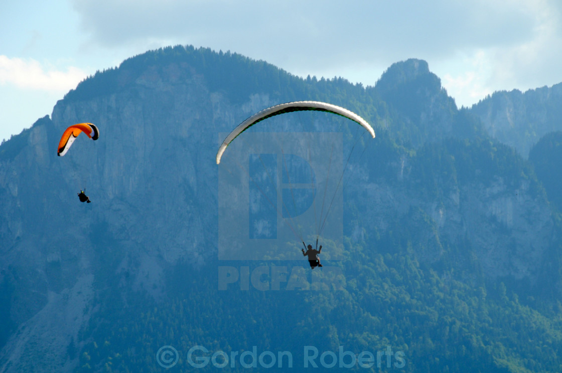 """Hang gliding"" stock image"