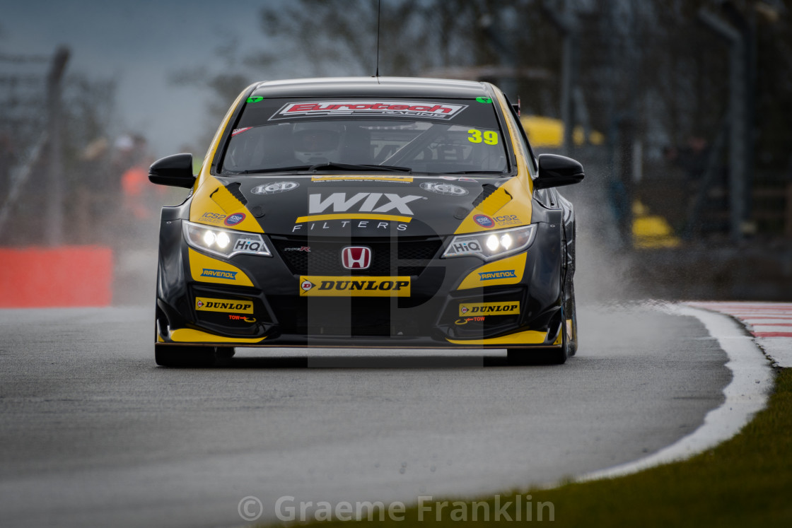Jack Goff In The Wix Racing Civic Type R License For 1488 On Picfair
