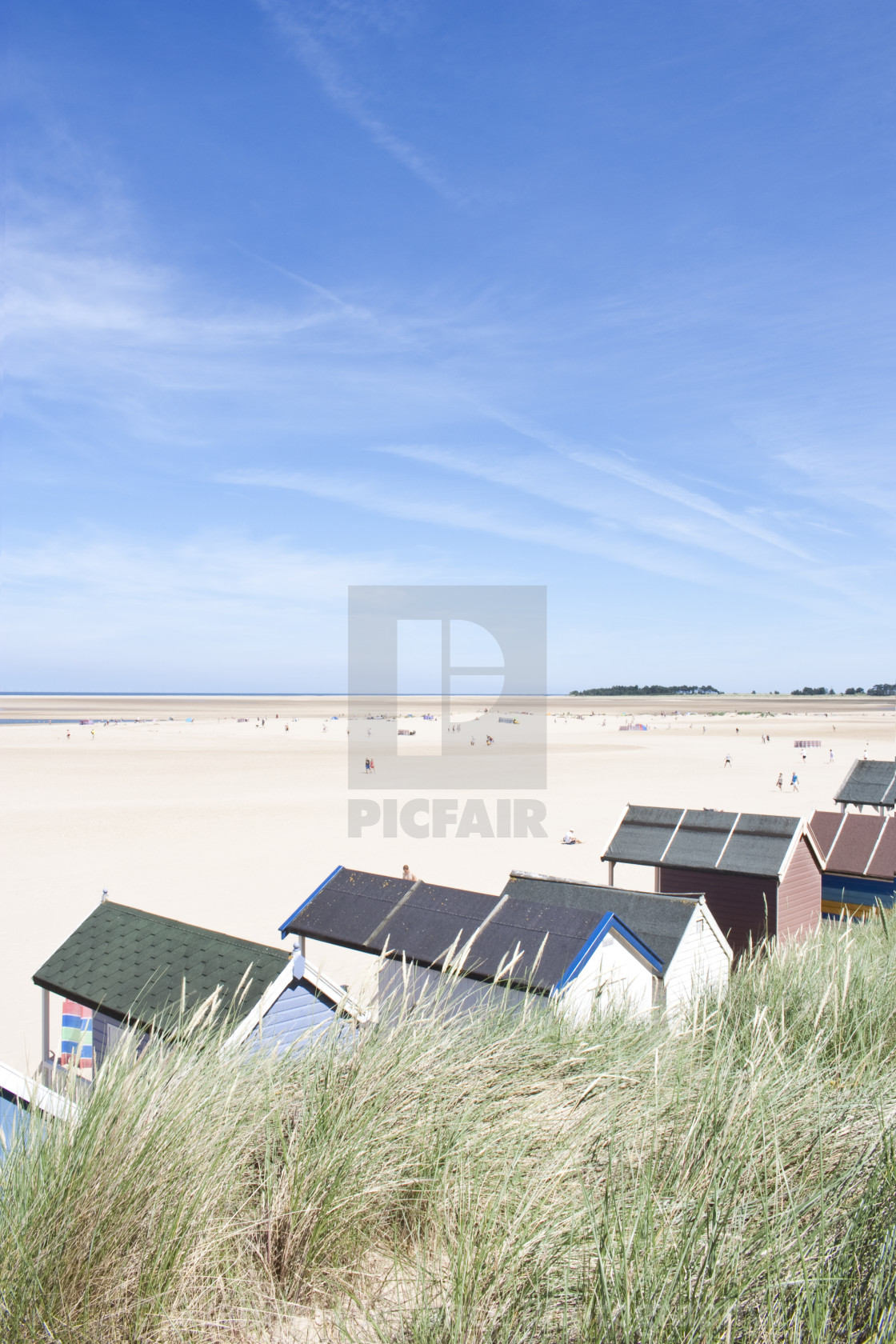 """Wells Next The Sea"" stock image"