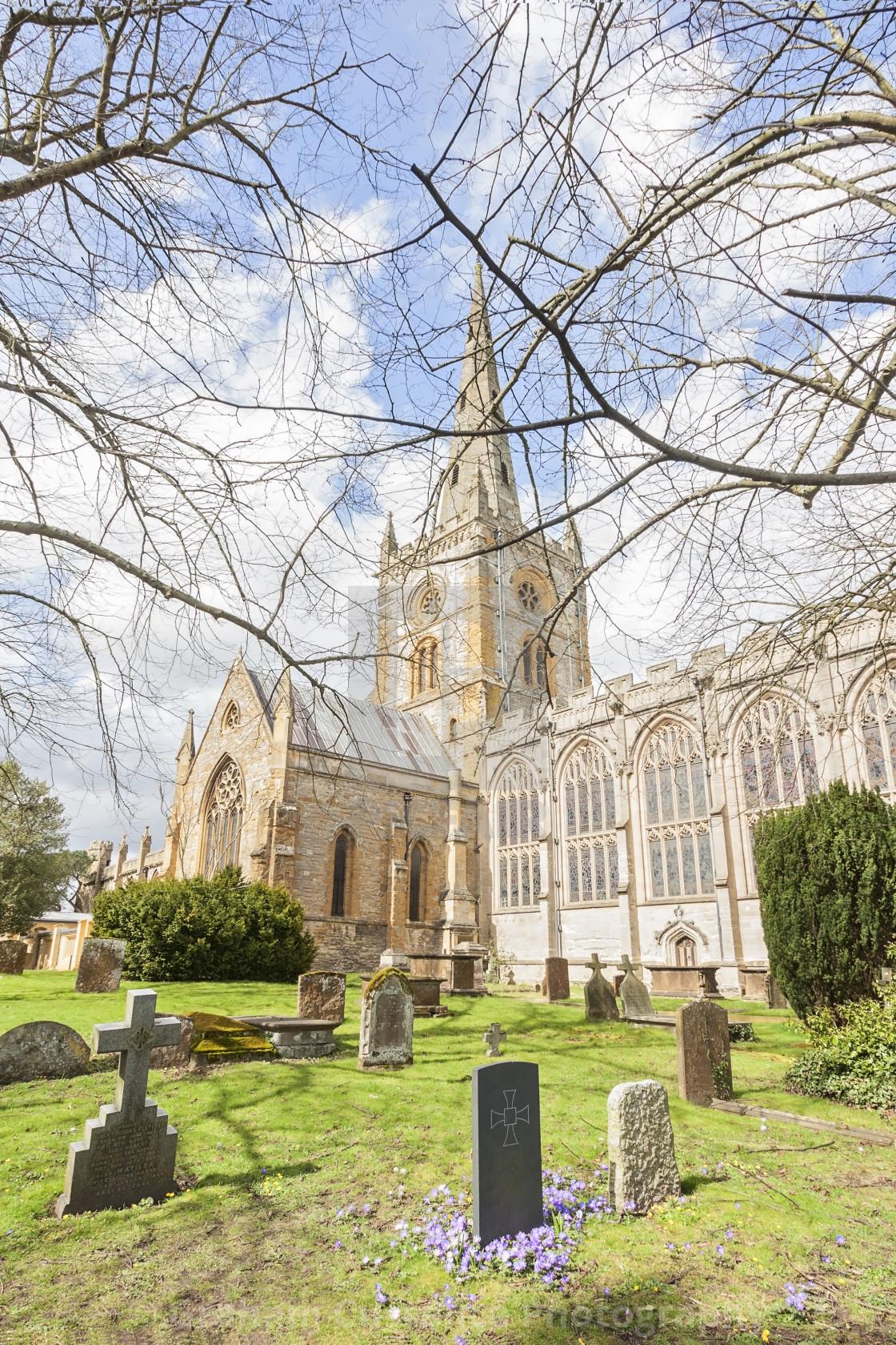 """Shakespeare's Church"" stock image"