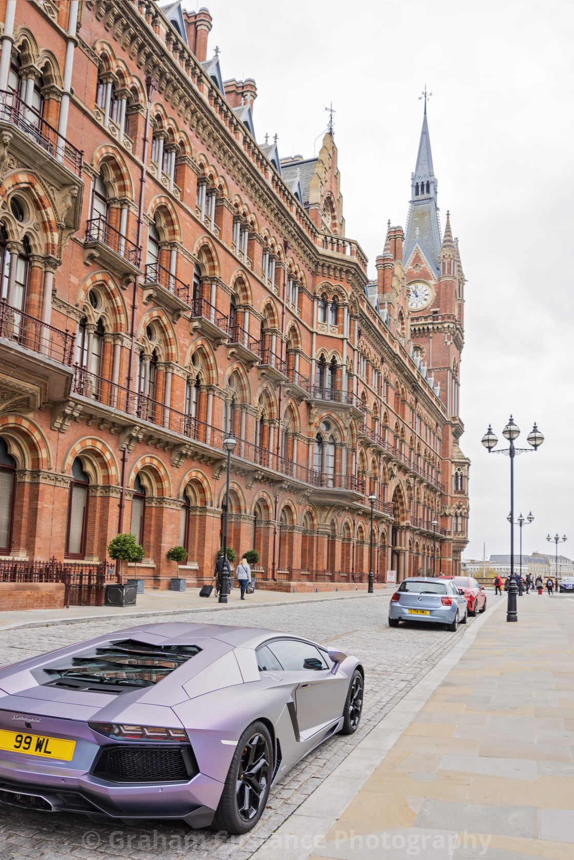 """St Pancras International Station"" stock image"