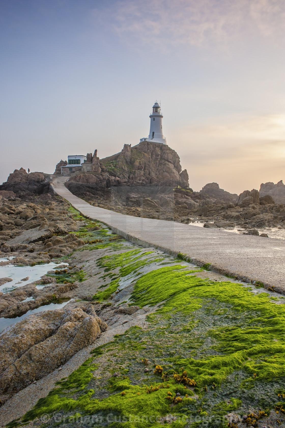 """Corbiere Lighthouse"" stock image"