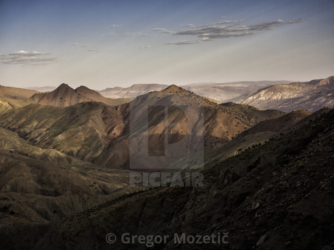 """""""High Atlas Morocco, North Africa"""" stock image"""