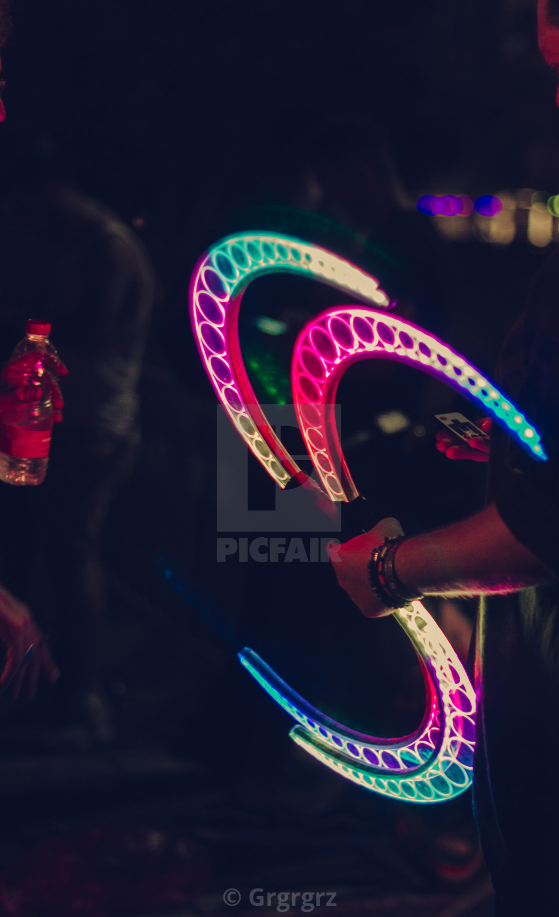 """""""rave weapon"""" stock image"""