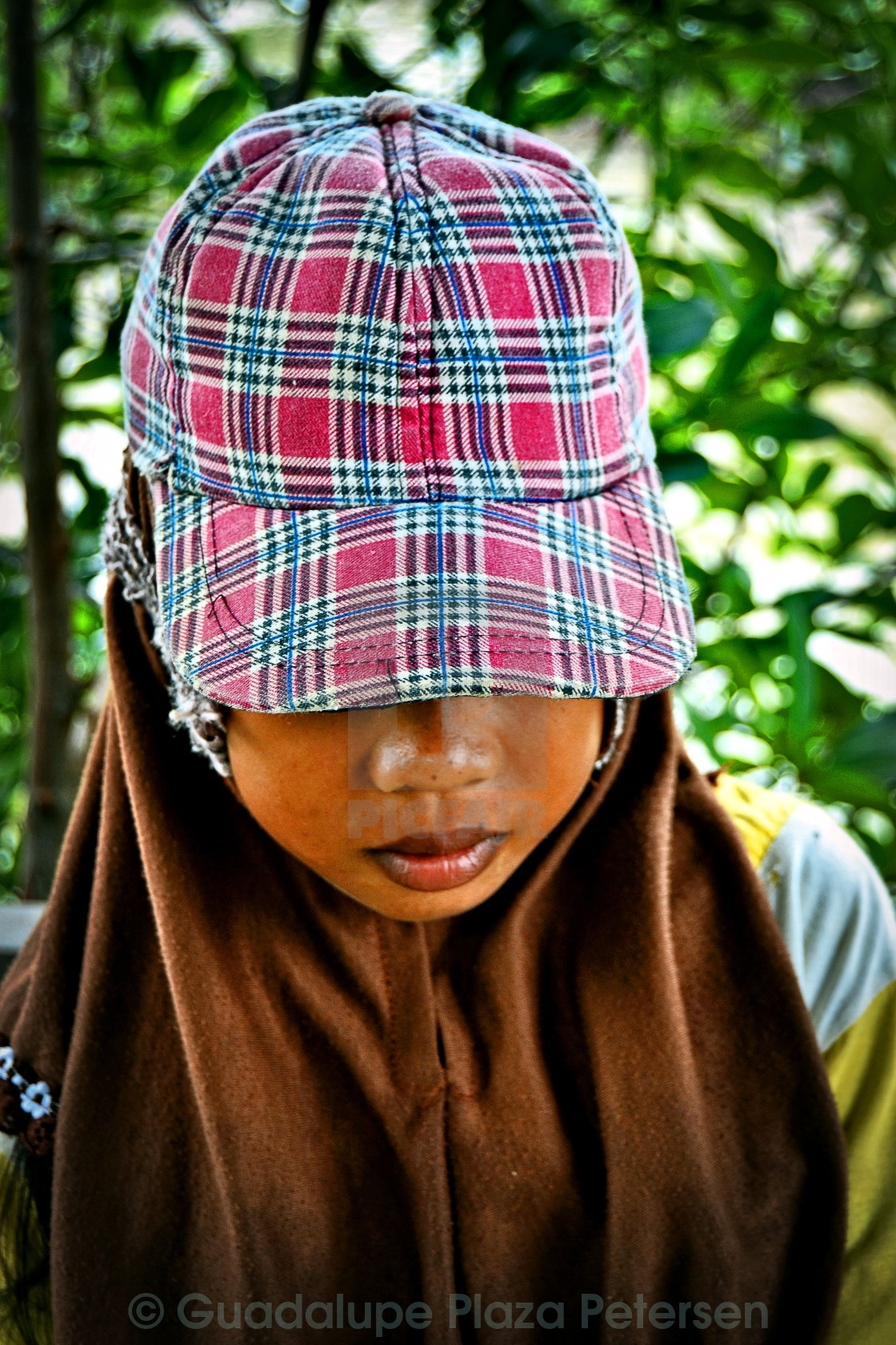 """Girl of mangroves, Karimunjawa"" stock image"