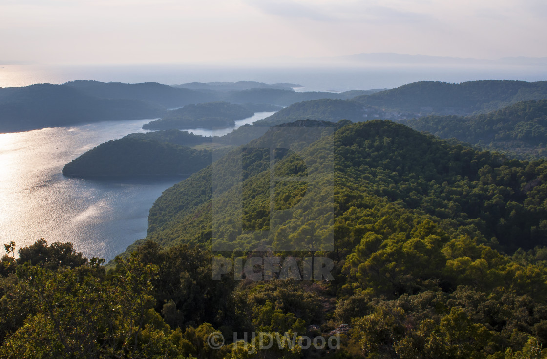 """The Mljet National Park"" stock image"