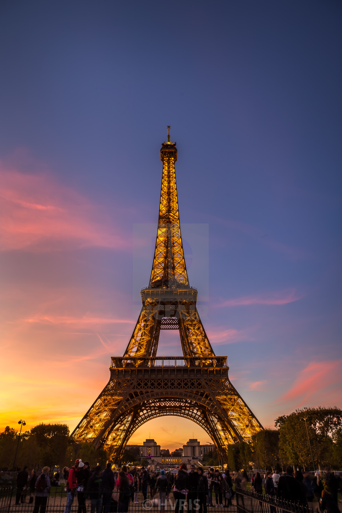 Eiffel Tower Sunset License Download Or Print For 3 10 Photos Picfair