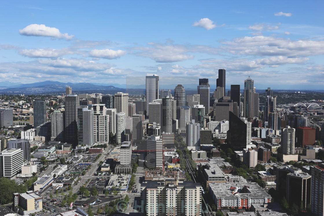 """Seattle City"" stock image"