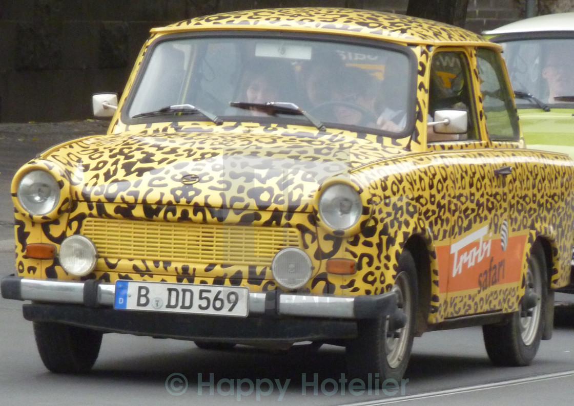 """""""Tiger Trabi"""" stock image"""