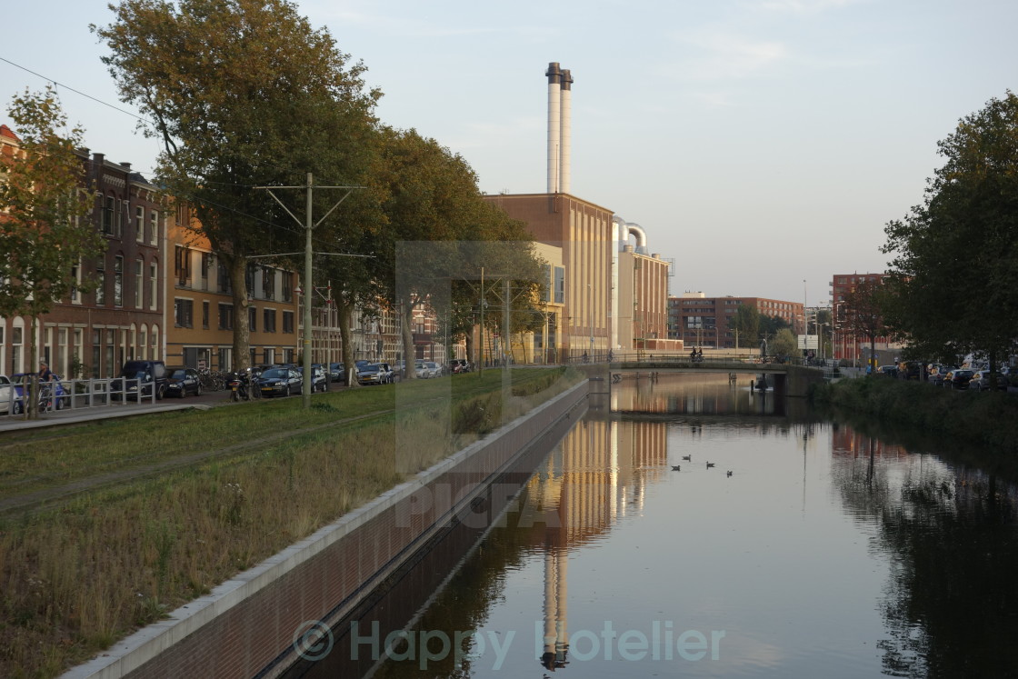 """""""The Hague Eon Power Station"""" stock image"""