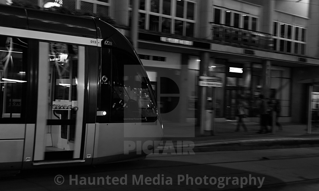 """""""The Tram"""" stock image"""