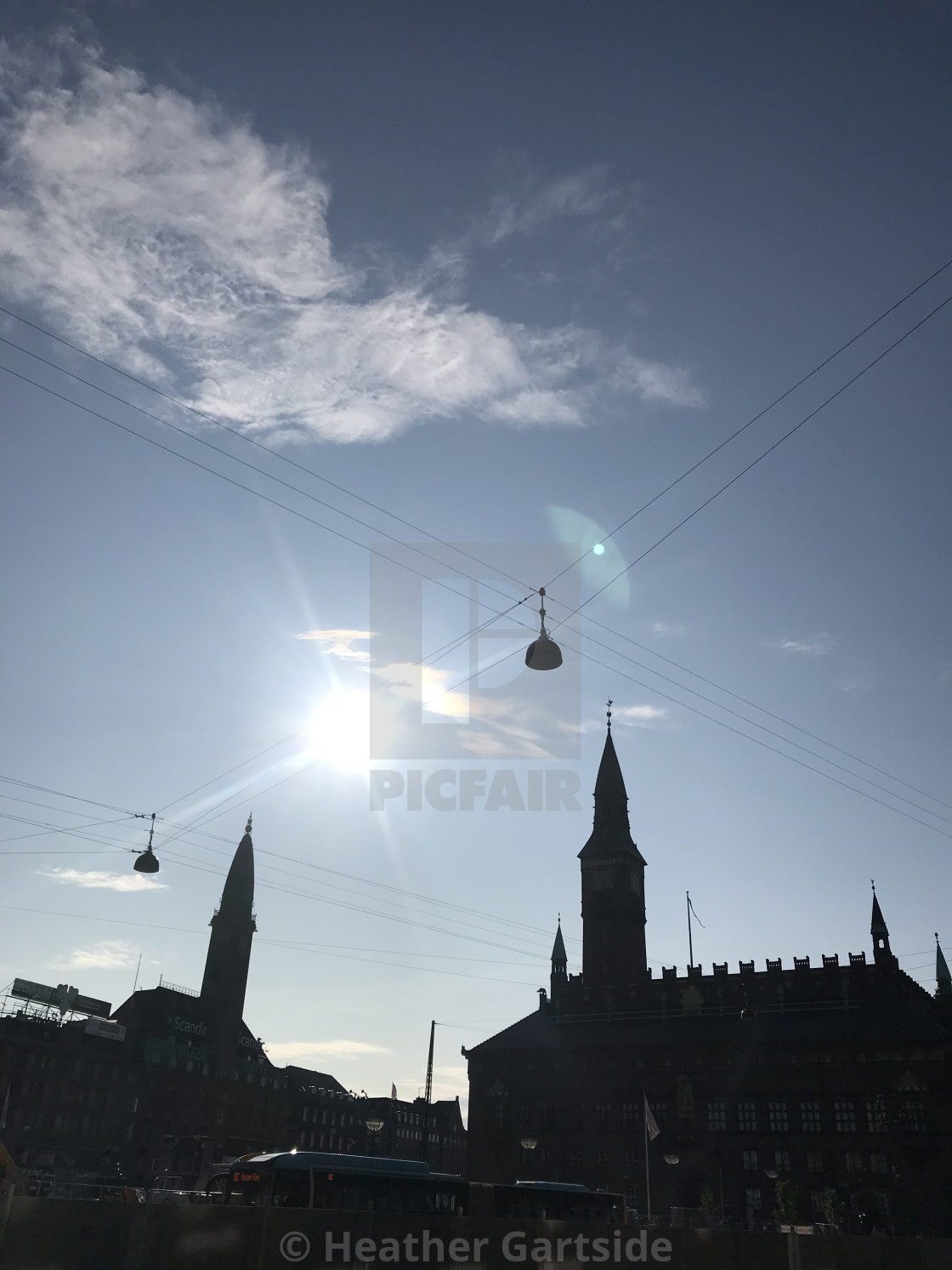 """Copenhagen City Hall"" stock image"
