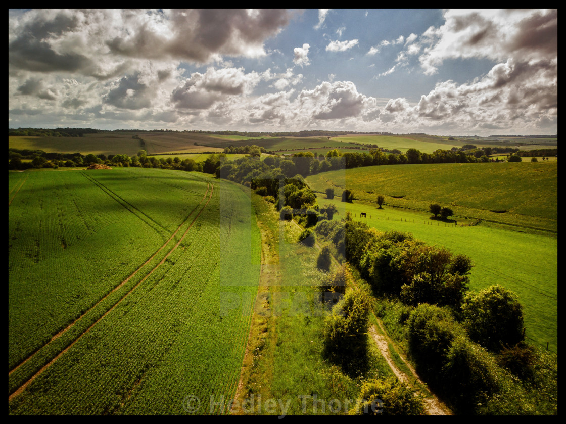 """West Ilsley"" stock image"