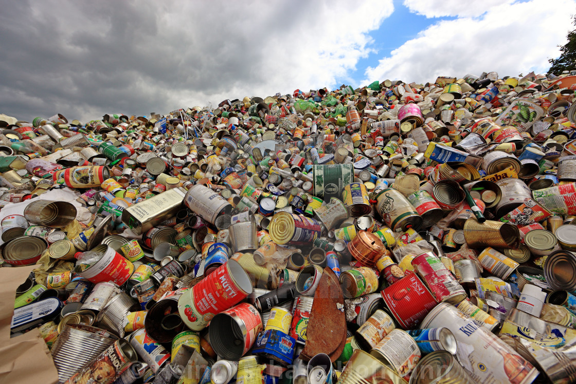Waste disposal for recycling - License, download or print