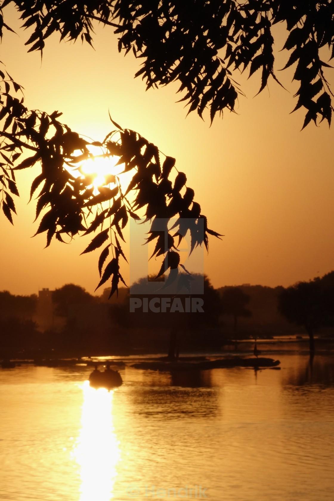 """Sunset in Jaisalmer"" stock image"