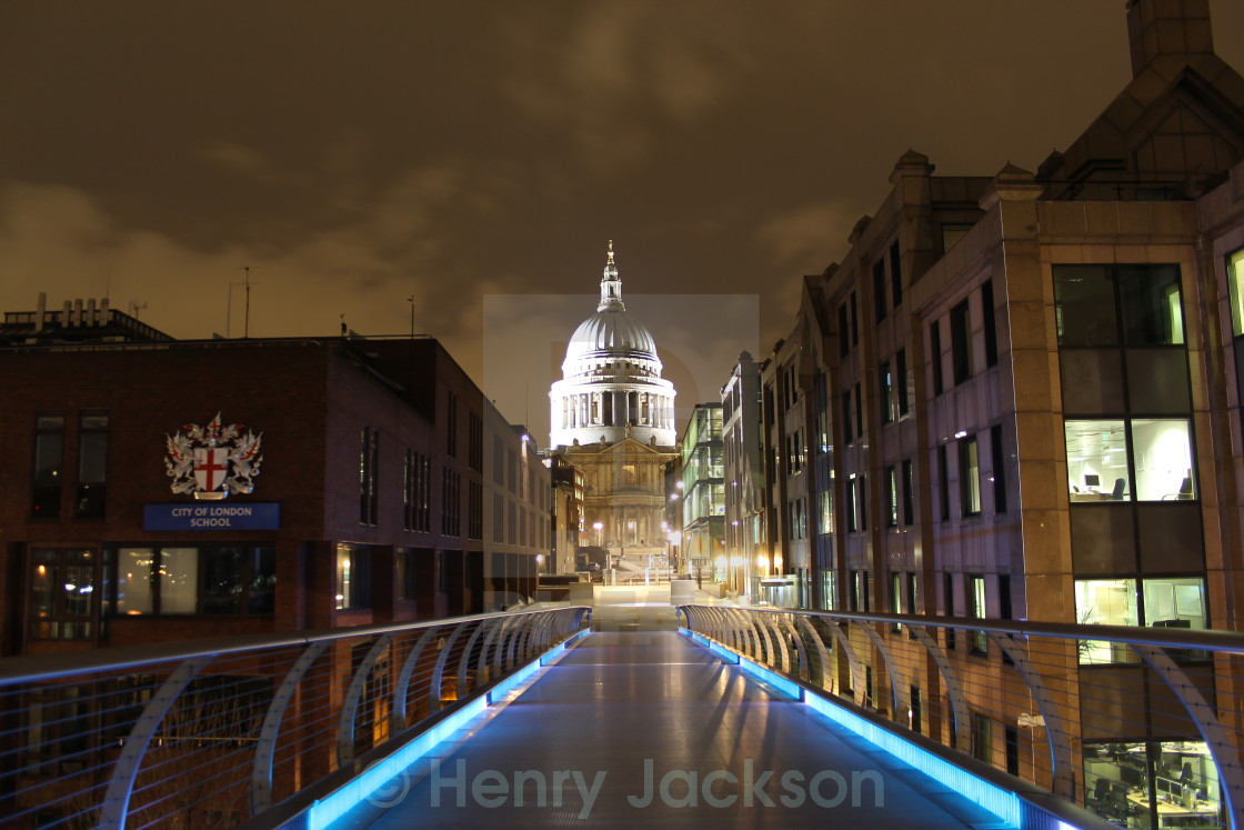 """St. Pauls Cathedral"" stock image"