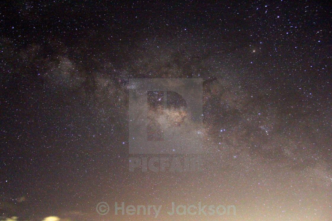 """""""Nevisian Sky"""" stock image"""