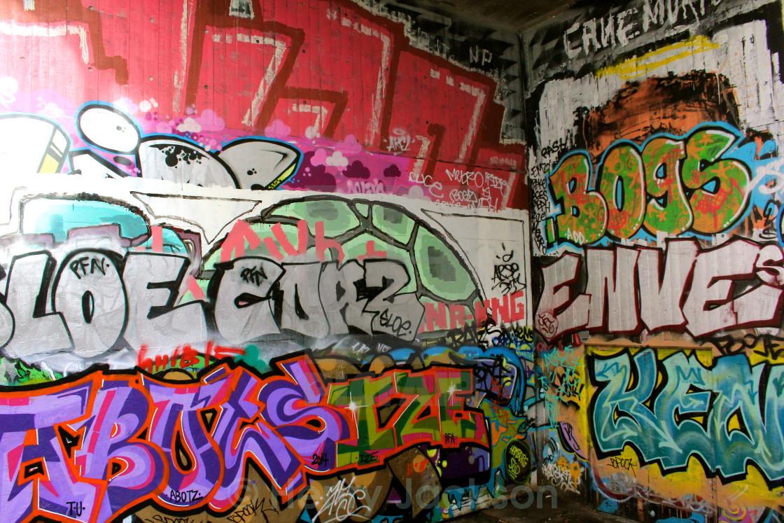 """Graffiti Corner"" stock image"