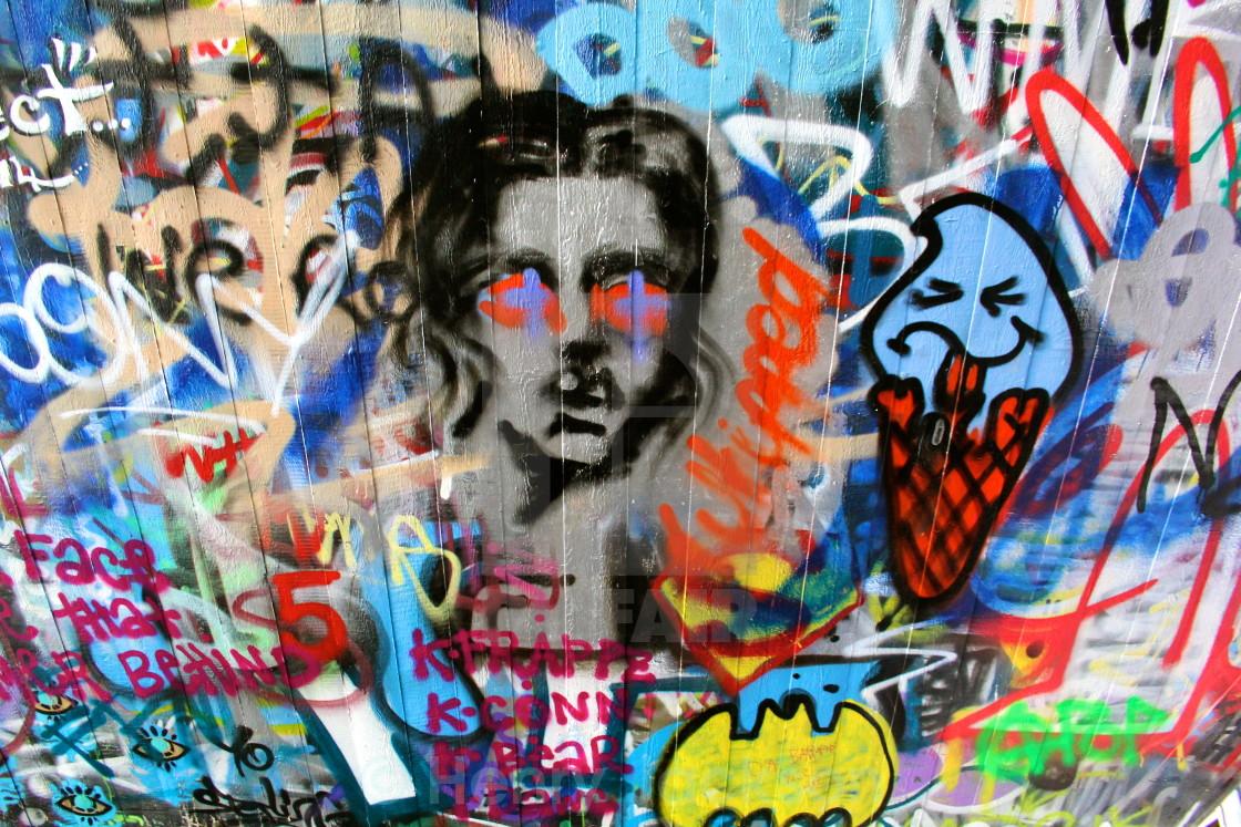 """Wall Art"" stock image"