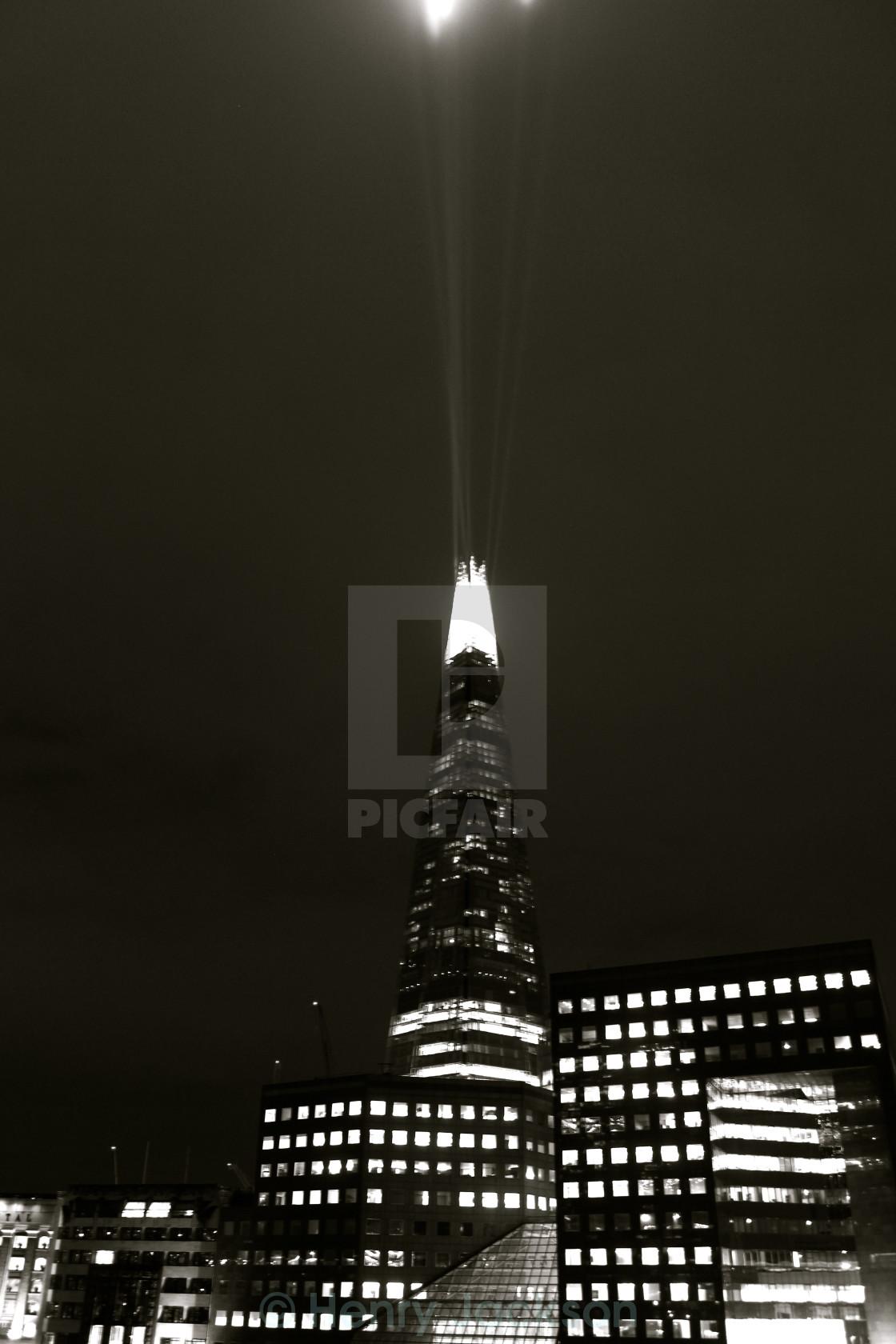 """Pinacle of London"" stock image"