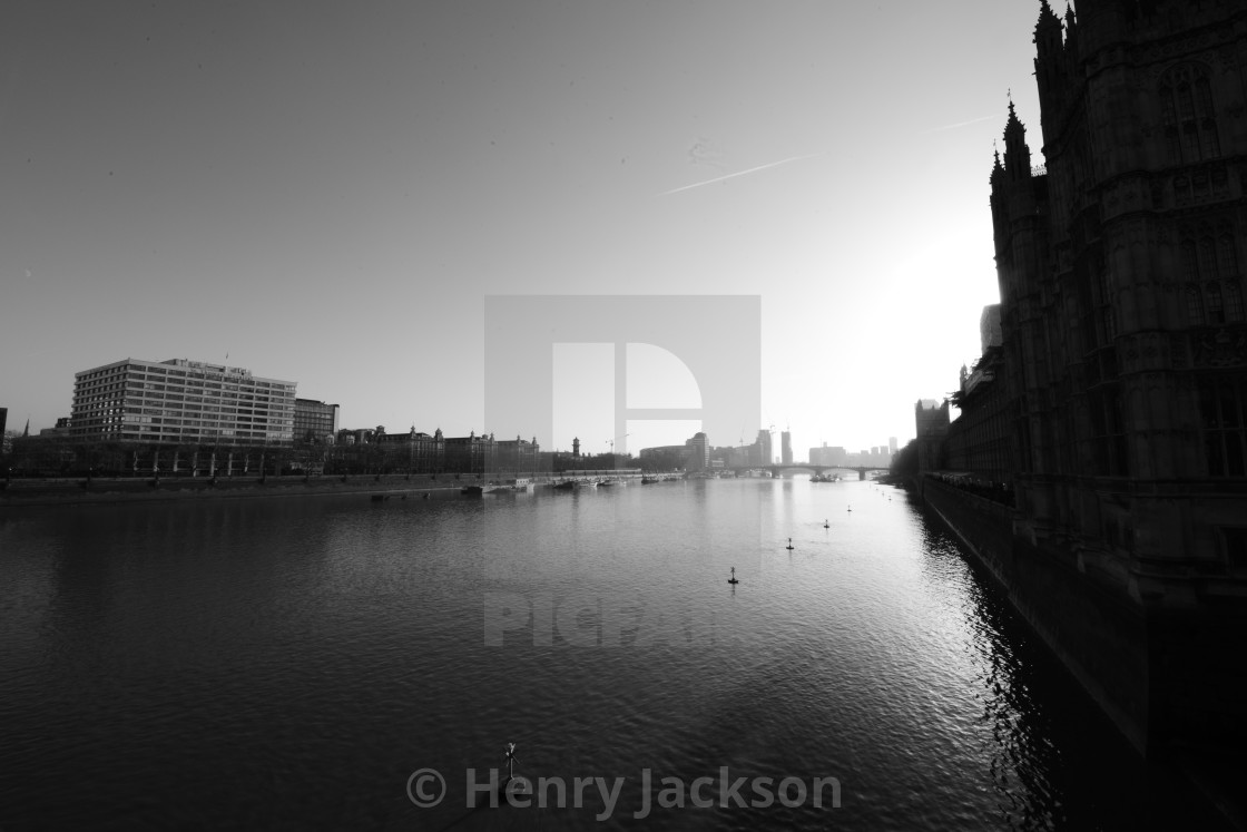"""Westminster Sun"" stock image"