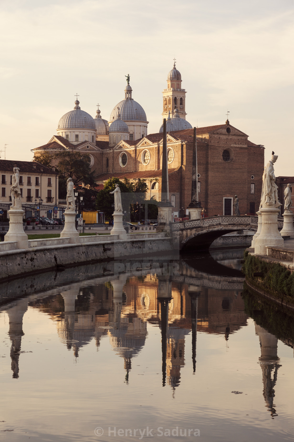 """""""Abbey of Santa Giustina in Padua"""" stock image"""