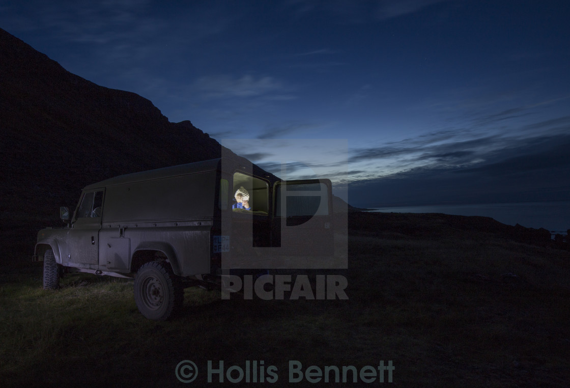 """Camping Iceland Style"" stock image"