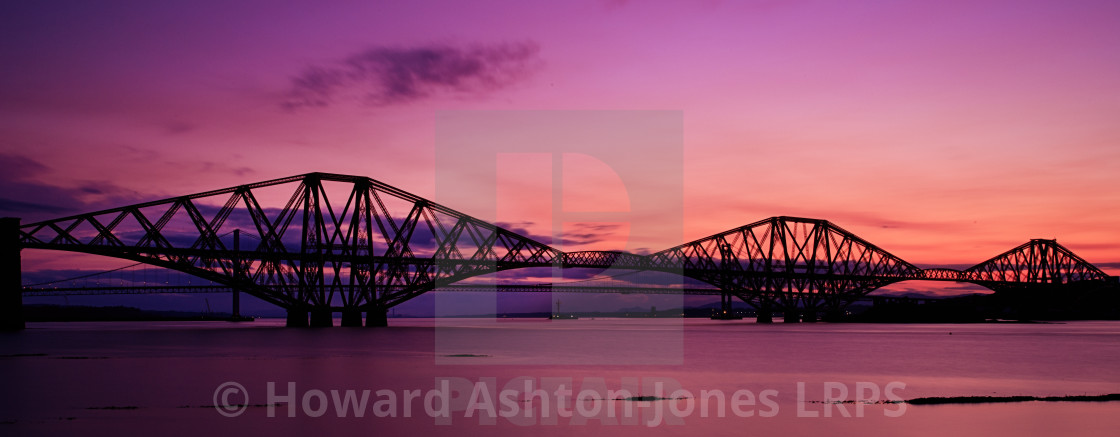 """""""Forth sunset"""" stock image"""