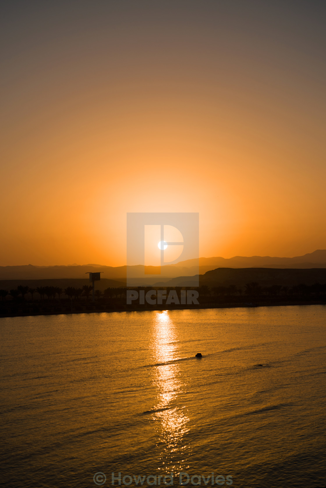 """Egypt Sunset"" stock image"