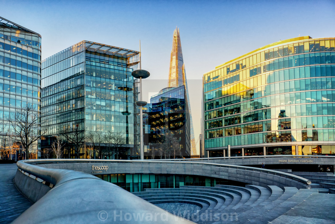 """""""More London and The Shard"""" stock image"""
