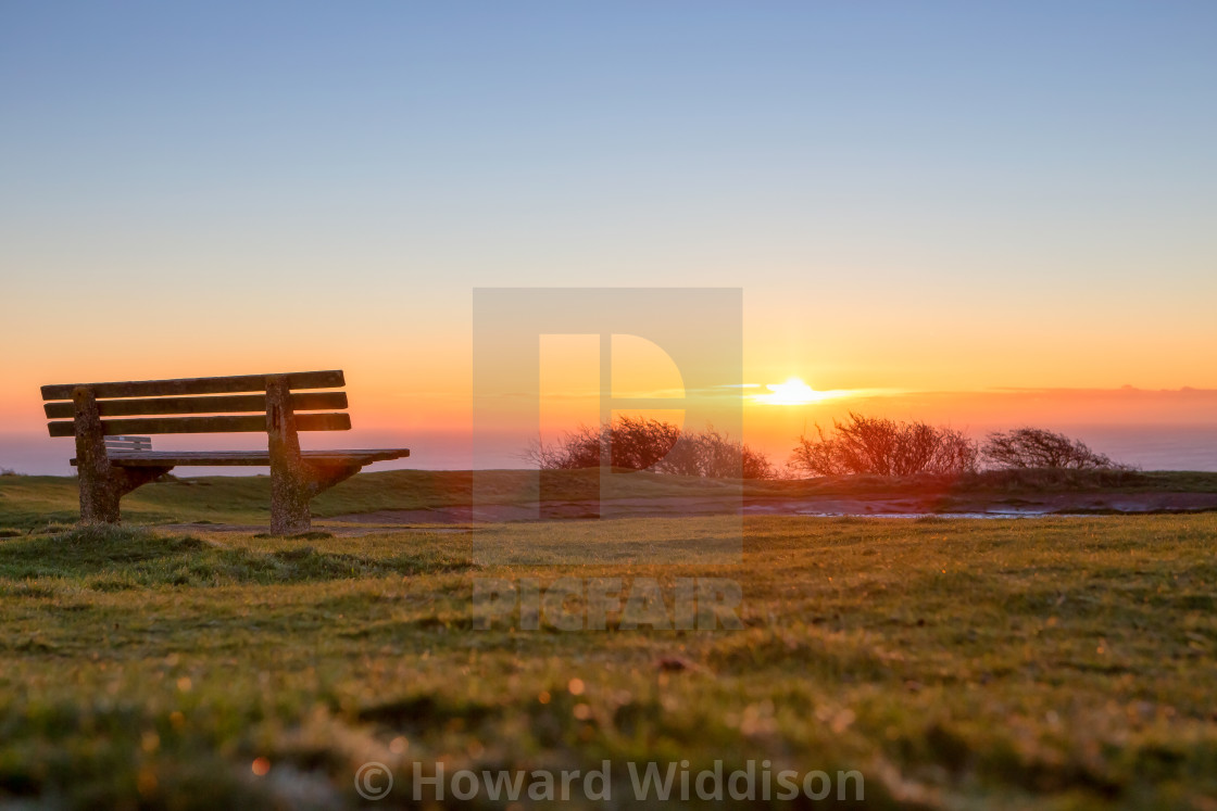 """The Bench"" stock image"