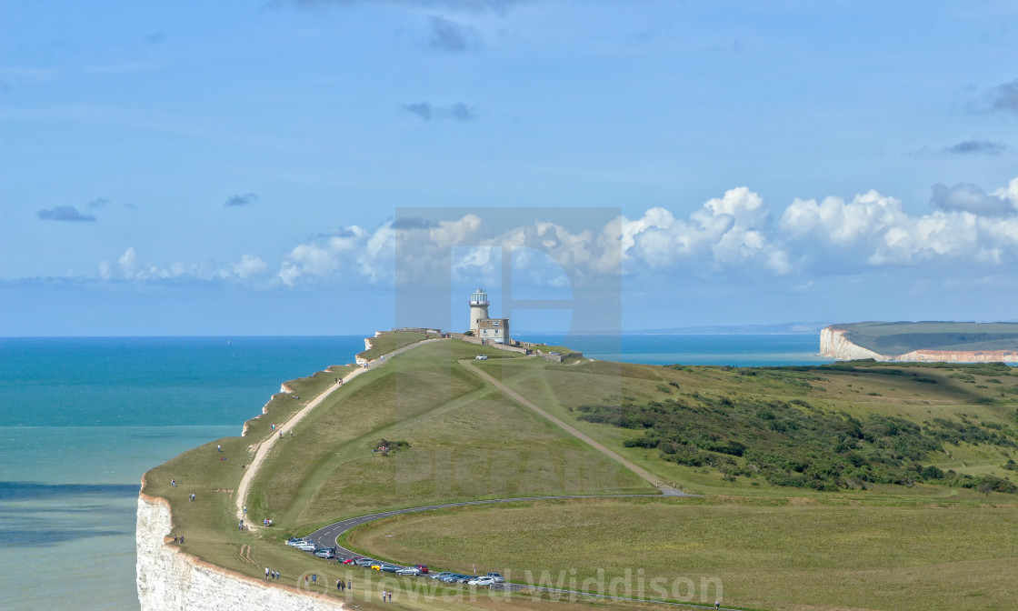 """Belle Tout Lighthouse"" stock image"