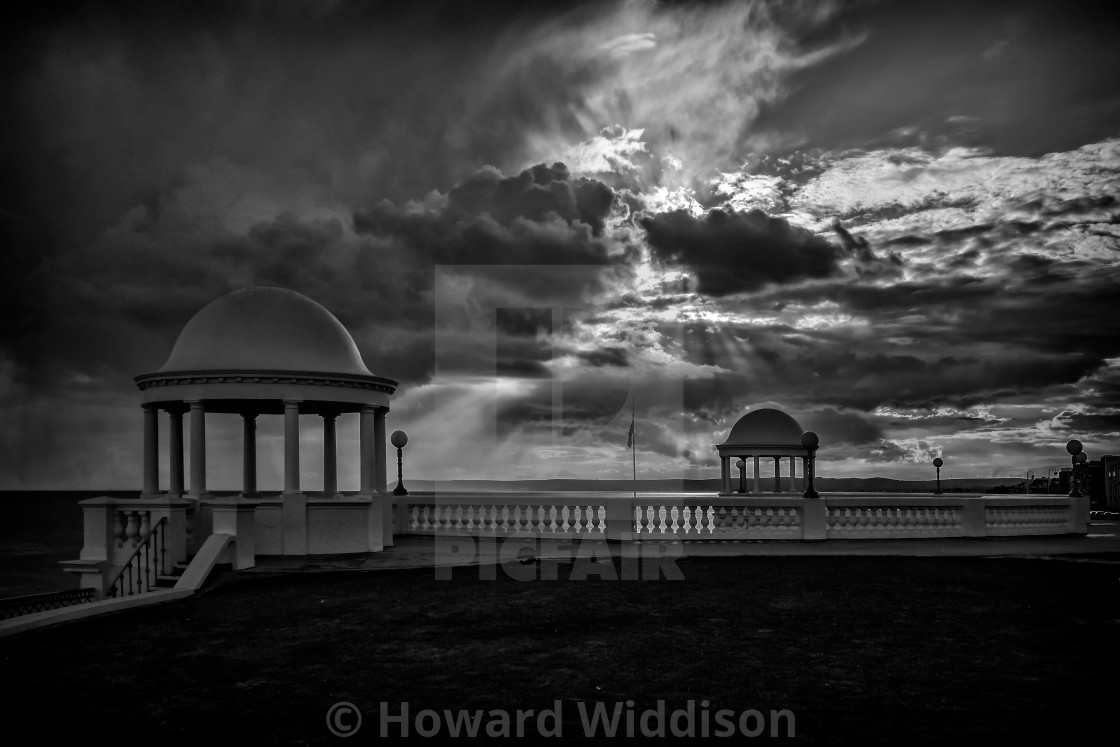 """De la Warr Pavillion Bexhill on Sea"" stock image"