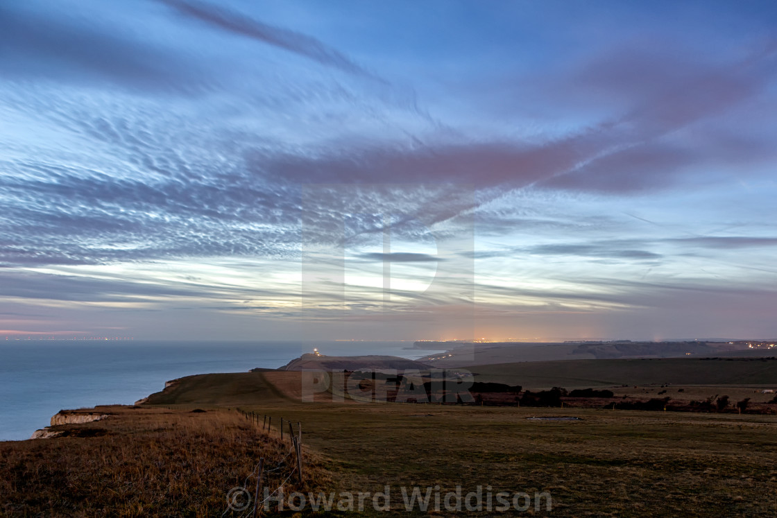 """Looking towards Belle Tout"" stock image"