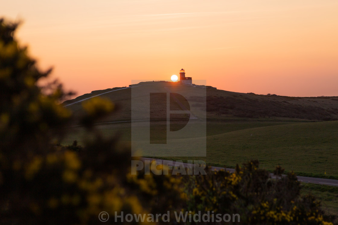"""Belle Tout Sunset 1"" stock image"