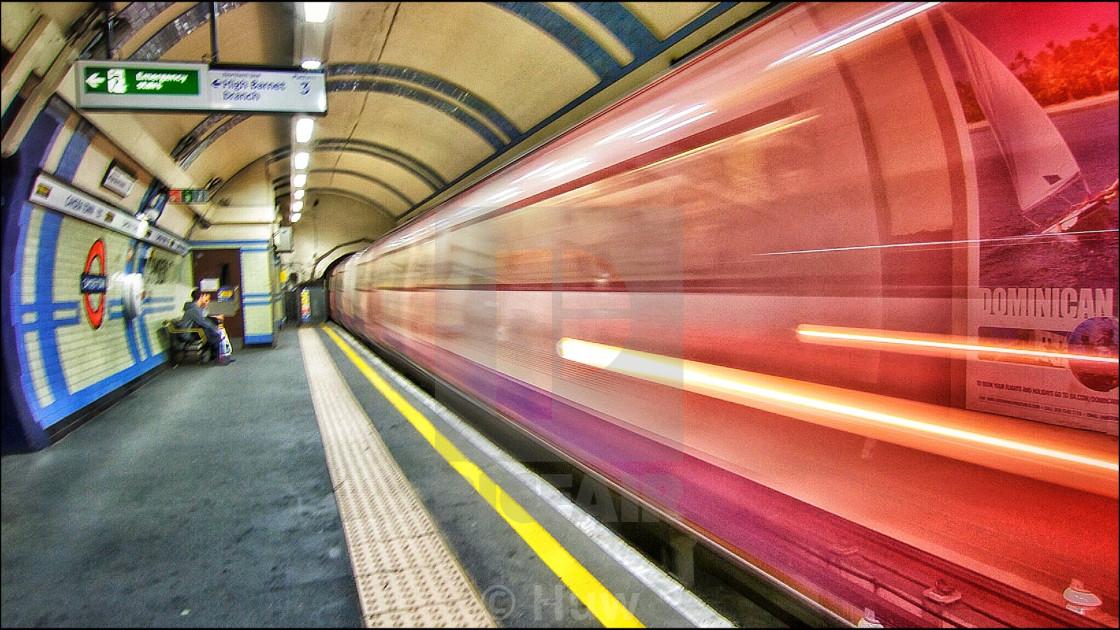 """London Tube"" stock image"