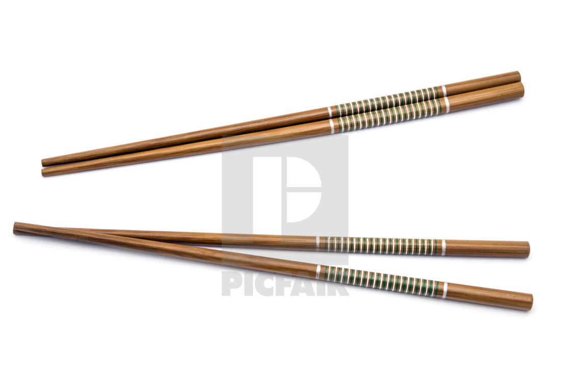 """Wood chopsticks"" stock image"