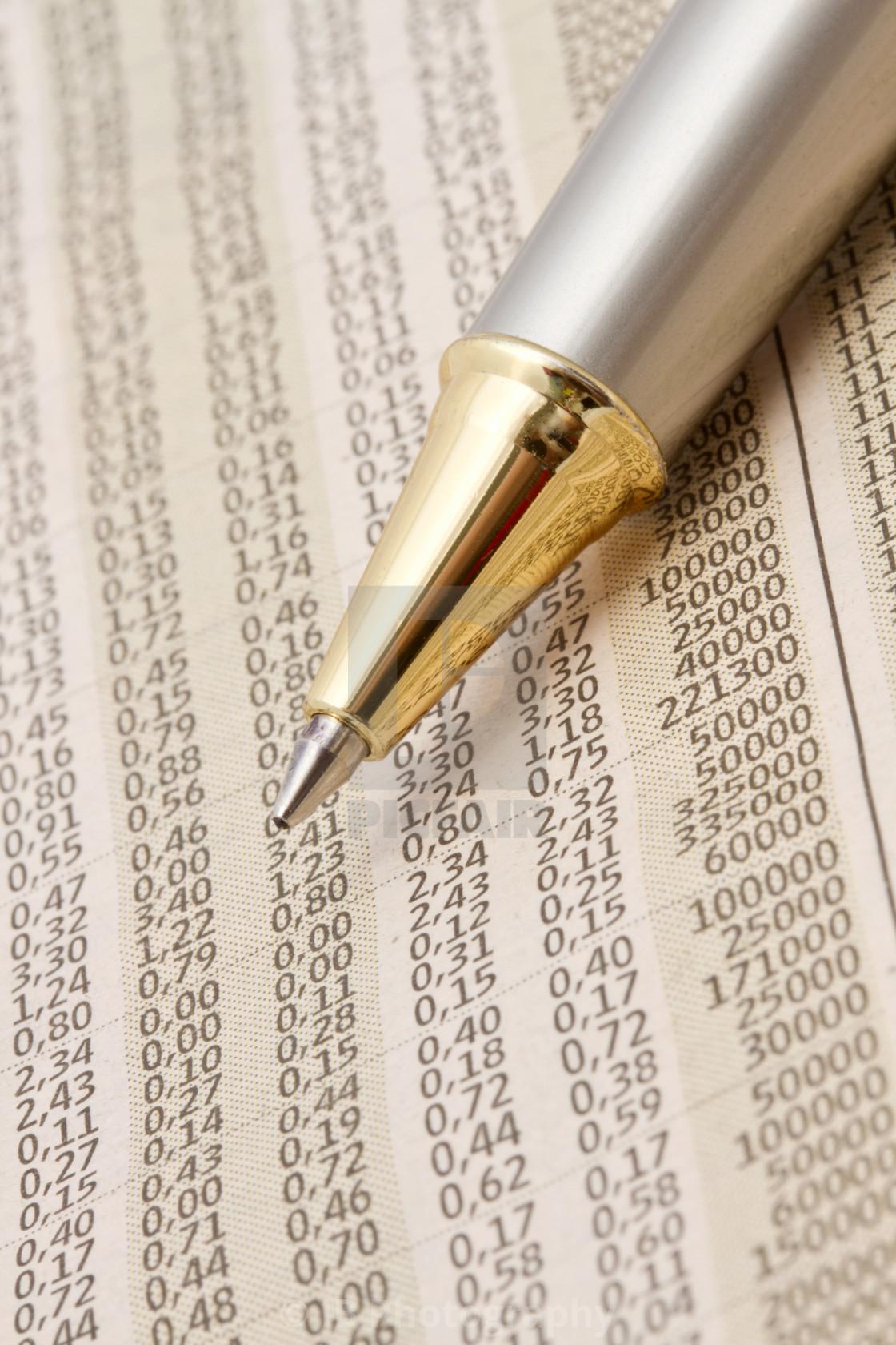 """""""Analyzing the stock market"""" stock image"""
