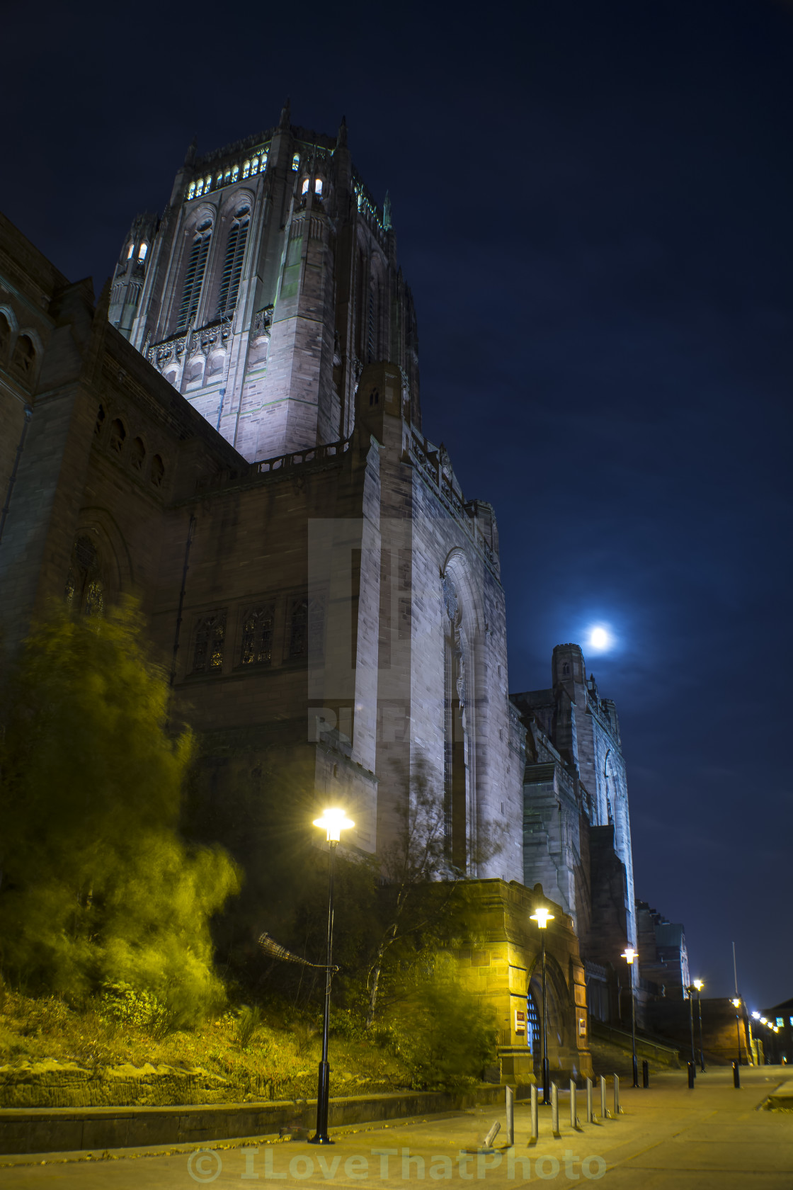 """Liverpool Cathedral"" stock image"
